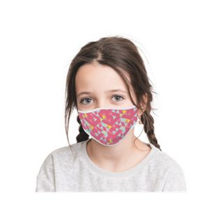 Mund-Nasen-Masken 2er-Set Kids Girl Power/Retro - Bild 1
