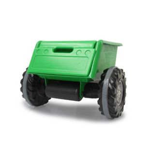 Anhänger Ride-on grün für Traktor Power Drag - Bild 1