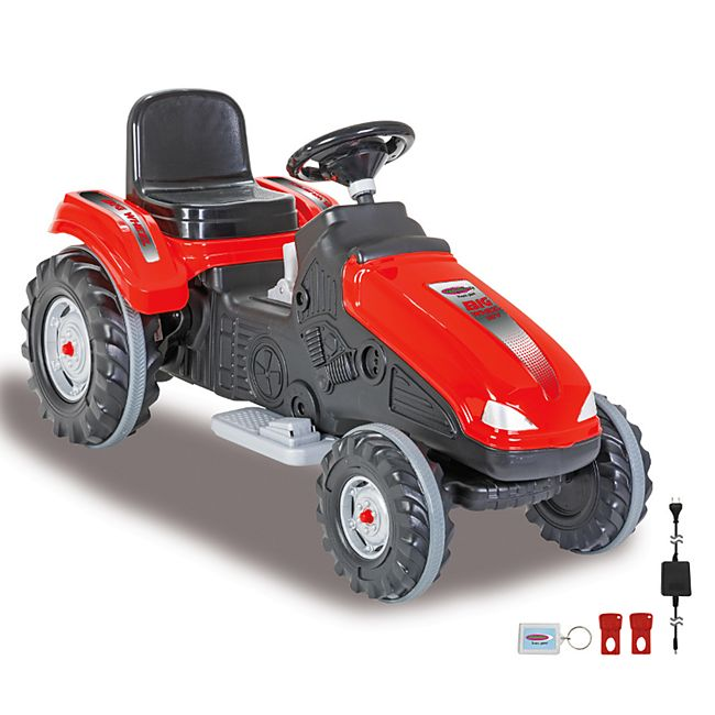 Ride-on Traktor Big Wheel 12V rot - Bild 1