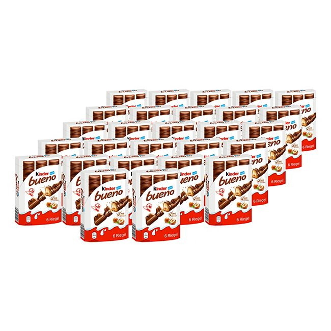 Ferrero Kinder Bueno 129 g, 27er Pack - Bild 1