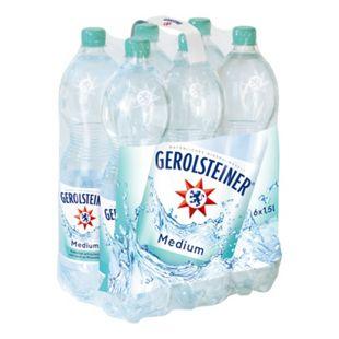 Gerolsteiner Mineralwasser Medium 1,5 Liter, 6er Pack - Bild 1