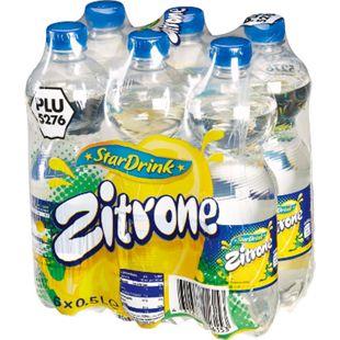 Stardrink Zitronenlimonade 0,5 Liter, 6er Pack - Bild 1