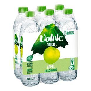 Volvic Wasser mit Apfelgeschmack 1,5 Liter, 6er Pack - Bild 1