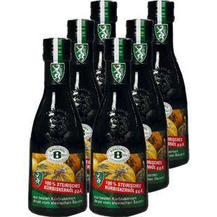 Steirisches Kürbiskernöl g.g.A. 250 ml, 6er Pack - Bild 1