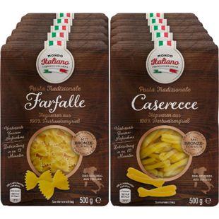 Mondo Italiano Casarecce / Farfalle 500 g, verschiedene Sorten, 10er Pack - Bild 1