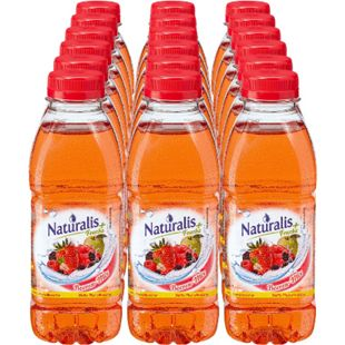 Naturalis Fruchtsaftgetränk Beeren-Mix 0,5 Liter, 18er Pack - Bild 1