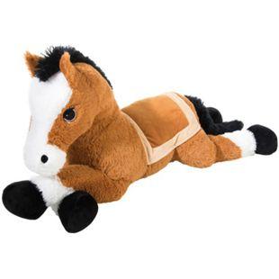 Heunec Pferd XXL liegend in braun 110cm - Bild 1