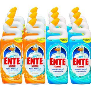 WC-Ente Total Aktiv Gel flüssiger WC-Reiniger 750 ml, verschiedene Sorten, 12er Pack - Bild 1