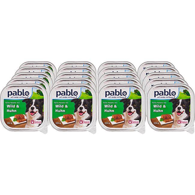 Pablo Hundenahrung Wild & Huhn 300 g, 20er Pack - Bild 1