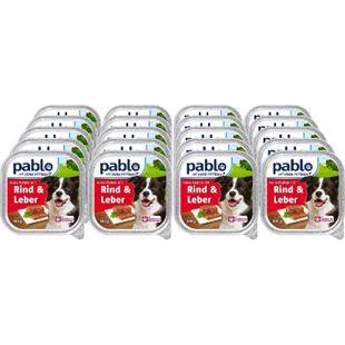 Pablo Hundenahrung Rind & Leber 300 g, 20er Pack - Bild 1