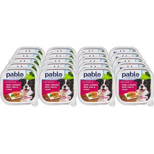 Pablo Hundenahrung Huhn, Schwein, Rind, Pute 300 g, 20er Pack - Bild 1