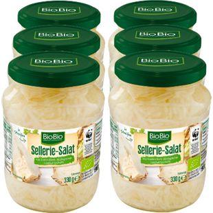 BioBio Selleriesalat 190 g, 6er Pack - Bild 1