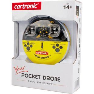 RC 2.4 GHz Quadrocopter Pocket Drone - Bild 1