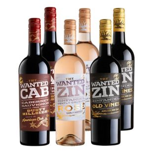 Weinpaket The Wanted 12,5-14,5 % vol 6 x 0,75 Liter - Bild 1