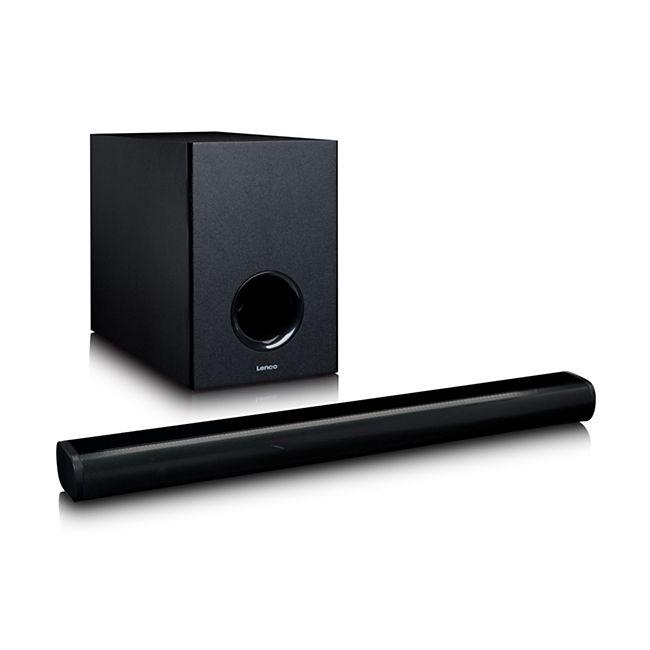 Lenco SBW-800BK Bluetooth-Soundbar mit kabellosem Subwoofer - Bild 1