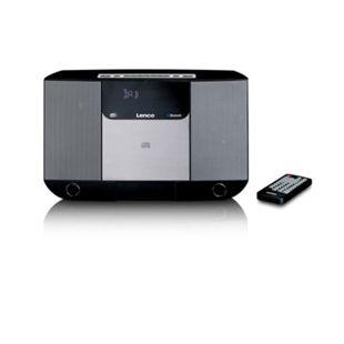 Lenco DAR-045 Vertikale Stereo Anlage mit DAB+/FM Radio, CD Player und Bluetooth - Bild 1