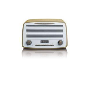 Lenco DAR-012 Retro DAB+ und FM-Radio mit Bluetooth, taupe - Bild 1