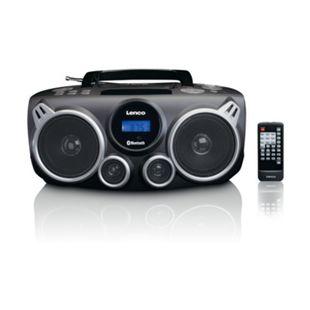 Lenco SCD-685K XXL DAB+ Radiorekorder mit CD, MP3, Bluetooth und USB - Bild 1