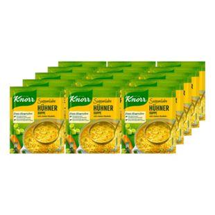 Knorr Suppenliebe Hühnersuppe mit Nudeln ergibt 0,75 Liter, 15er Pack - Bild 1