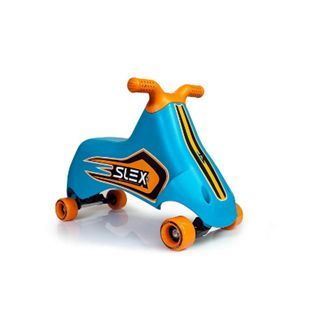 SLEX RACER Rutschfahrzeug in blau Kinder Rutschauto ABEC 3 Longboard Rollen bis 35kg - Bild 1