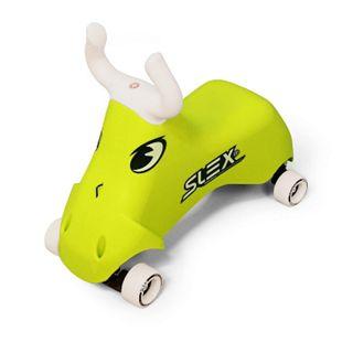 SLEX RodeoBull Rutschfahrzeug in grün Kinder Rutschauto ABEC 3 Longboard Rollen bis 35kg - Bild 1