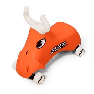SLEX RodeoBull Rutschfahrzeug in orange Kinder Rutschauto ABEC 3 Longboard Rollen bis 35kg - Bild 1