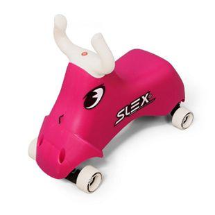 SLEX RodeoBull Rutschfahrzeug in pink Kinder Rutschauto ABEC 3 Longboard Rollen bis 35kg - Bild 1
