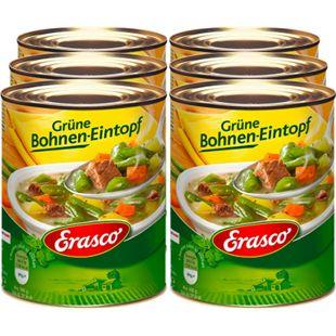 Erasco Grüne Bohnen-Eintopf 800 g, 6er Pack - Bild 1