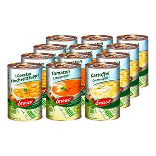 Erasco Suppe 390 ml, verschiedene Sorten, 12er Pack - Bild 1