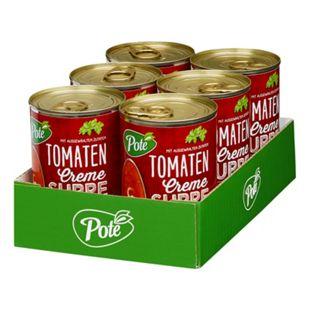 Pote Tomatencremesuppe 400 ml, 6er Pack - Bild 1