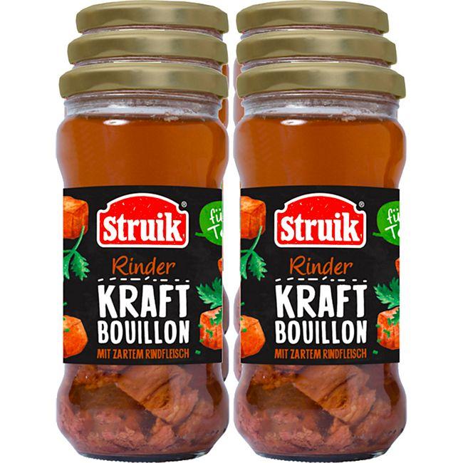 Struik Kraftbouillon Rind 340 ml, 6er Pack - Bild 1