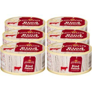 Hofmaier Rindfleisch im eig. Saft 300 g, 6er Pack - Bild 1