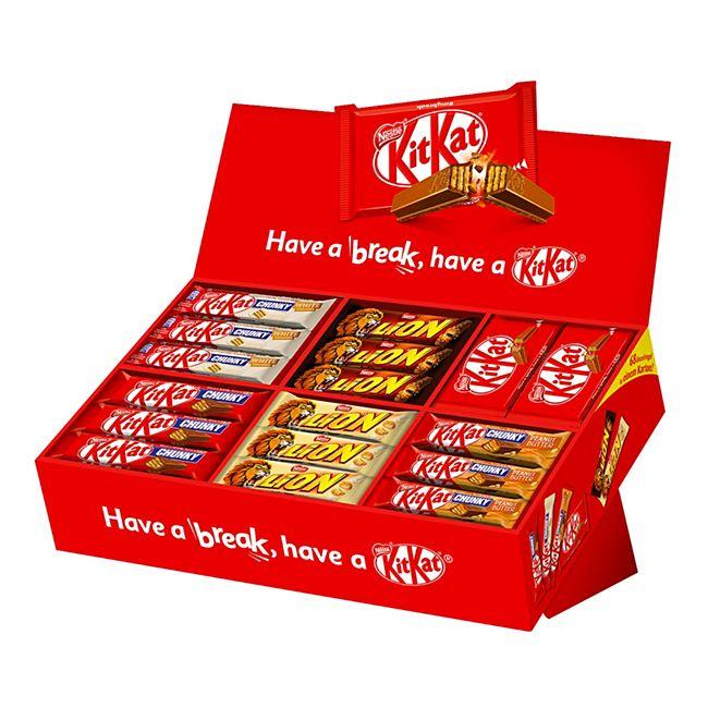 Kit Kat Box 40-42 g, verschiedene Sorten, 68er Pack 2801 g - Bild 1