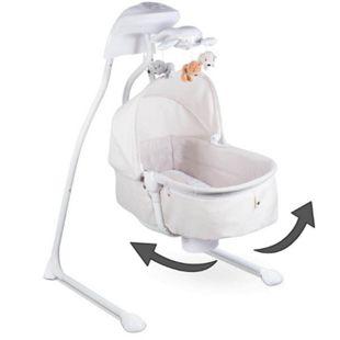 Lionelo Henny 3in1 Baby Wippe Babyschaukel und Babyliegestuhl Schaukel Sitz mit 12 Melodien + 2 Naturgeräusche - Bild 1
