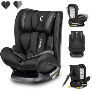 Lionelo Oliver schwarz Kindersitz 9-36kg Kindersitz Isofix Top Tether Seitenschutz 5 Punkt Gurt - Bild 1
