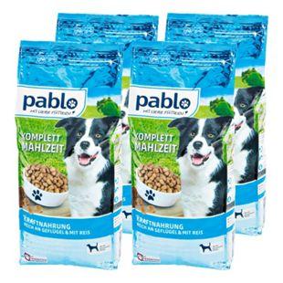 Pablo Hundenahrung Kraftmenü 3 kg, 4er Pack - Bild 1