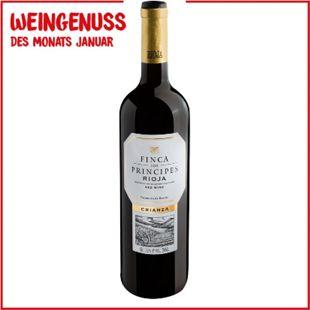 Finca los Príncipes Rioja Crianza 13,5 % vol 0,75 Liter - Bild 1