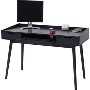 Schreibtisch MCW-A70b, Bürotisch Computertisch, MDF 120x55cm ~ dunkelgrau - Bild 1