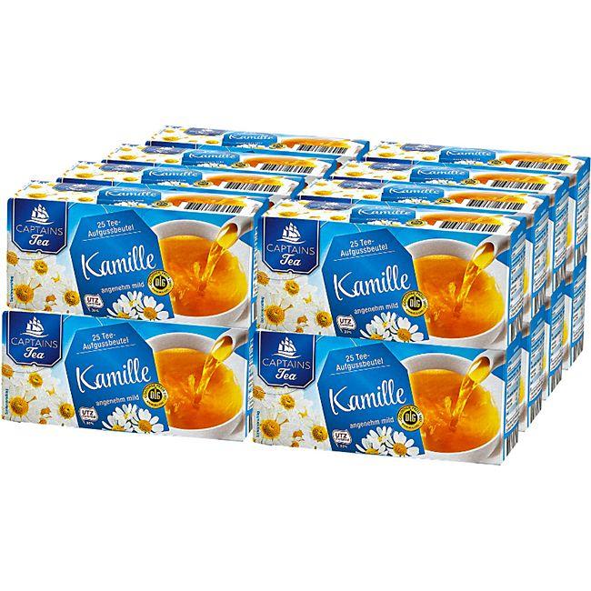 Captains Tea Kamillentee 37,5 g, 16er Pack - Bild 1