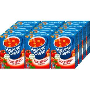 Erasco Heisse Tasse Tomaten-Creme ergibt 450 ml, 12er Pack - Bild 1
