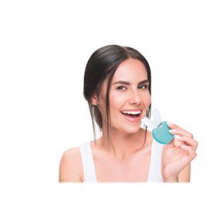 MAXXMEE Schall-Zahnbürste 360° automatisch 3,7V weiß/türkis - Bild 1