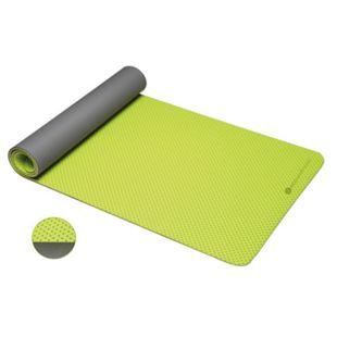 ecowellness Anti-Rutsch-Yogamatte zweilagig 183 x 61 x 0,4 cm - Bild 1
