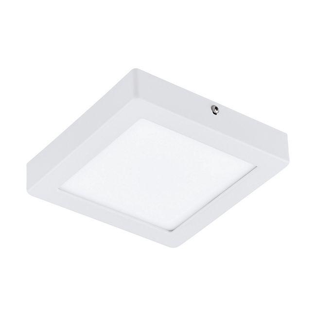 LED-Deckenleuchte eckig 17 cm weiß - Bild 1
