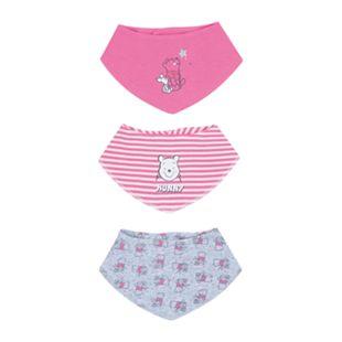 Baby Lizenz Lätzchen, 3er Pack, Winnie the Pooh für Mädchen, Gr. 62/68 - Bild 1