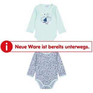 Doppelpack Baby Body Langarm für Jungen, Winnie the Pooh, Gr. 62/68 - Bild 1
