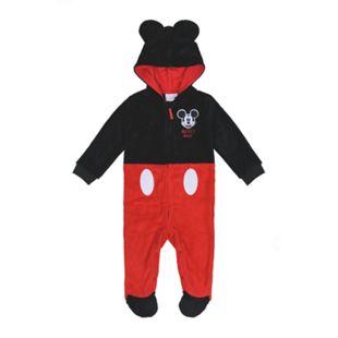 Baby Lizenz Fleeceoverall für Jungen, Mickey Mouse, Gr. 62/68 - Bild 1