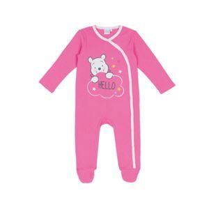 Baby Lizenz Schlafoverall für Mädchen, Winnie the Pooh, Gr. 62/68 - Bild 1
