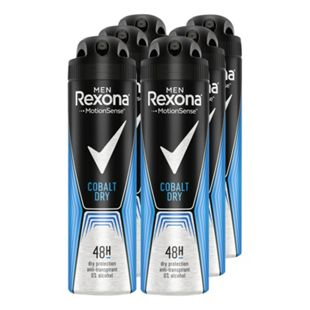 Rexona Deospray Men Cobalt 150 ml, 6er Pack - Bild 1
