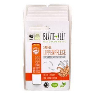 BLÜTE-ZEIT Lippenpflegestift  BIO-Sanddornfruchtfleischöl 4,5 g, 6er Pack - Bild 1