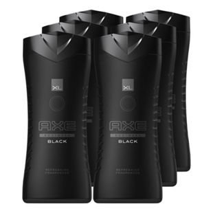 Axe Duschgel Black 400 ml, 6er Pack - Bild 1